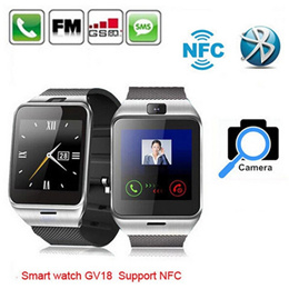 GV18 Smart Bluetooth Watch For iPhone Android Phone + NFC + SIM card Support + Camera