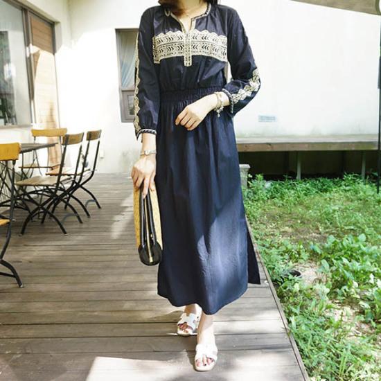 モニカルームラビジャ数opsワンピース プリントのワンピース/ 韓国ファッション