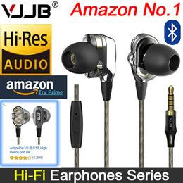 [VJJB] Mobile Earphones V1S Dual Driver System earphones / Deep Bass HIFI perfect sound quality