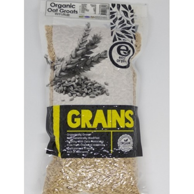 Qoo10 - EARTH LIVING Organic Oat Groats (500gm) : Groceries