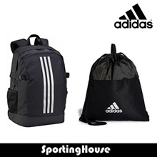 [Adidas] Original 100% Authentic | 3-Stripe  Backpack | Gym bag | Zip Pocket | Local Seller
