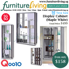 Furniture Living SG - New Display Cabinet / Divider with Lighting from only $158! Free Delivery
