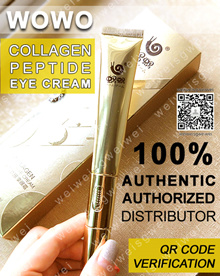 WOWO Collagen Peptide Eye Cream with Built-In Massager. Free gift with purchase