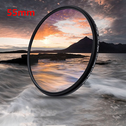 Universal 55mm UV Filter Lens Protector 55 mm camera filtros For Nikon Canon Sony A200 A450 A300
