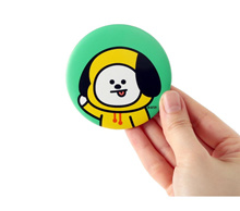 BT21 CHIMMY POCKET MIRROR - ORIGINAL LIMITED EDITION