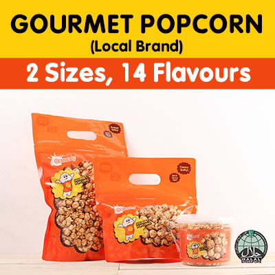 Cornery[Cornery - the popcorn gallery] The ONLY Halal Gourmet Popcorn brand  / Regular and Large Packaging