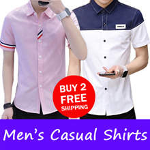 2018 New  Mens  Casual shirts /Work shirts