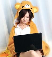 Rilakkuma Hoody Blanket Christmas Gift Totoro Hoodie