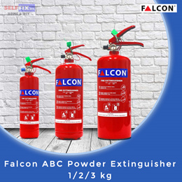 【Falcon】 ABC Powder Extinguisher 1/2/3 kg (Excellent for home use!)
