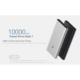 Xiaomi Mi Powerbank Power Bank 3 10000mah PD3.0 QC3.0 Dual USB 18W