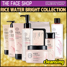 ★The Face Shop★  Rice Water Bright Cleansing(Foam/Water/Milk/Oil)