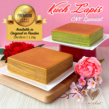 [Emicakes] NEW! CNY Special Kueh Lapis **FREE QX | Islandwide Collection** (18cmx18cm 1.2kg)