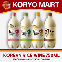 Kooksoondang Korean rice wine 750ml / 4 Flavors
