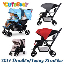 2018  Seebaby Double/Twin Strollers★tandom/side by side/back to back stroller/T12pro T12 T22 T33