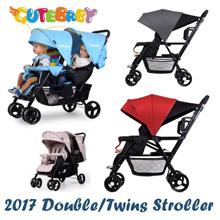 2018  Seebaby Double/Twin Strollers★tandom/side by side/back to back stroller/T12pro T12 T22 T33