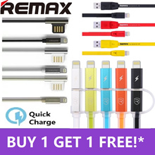 ♣BUY1GET1FREE♣ Authentic REMAX Wide Range High Speed Fast Charge USB Cable Lightning Cable Micro USB