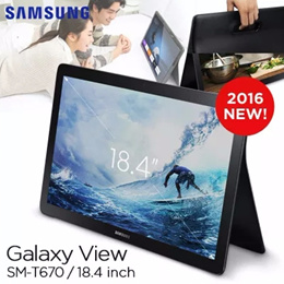 [2016 NEW ARRIVAL!]SAMSUNG Galaxy View SM-T670 Tablet 32GB (WI-FI) 18.4inch wide display Tablet lapt