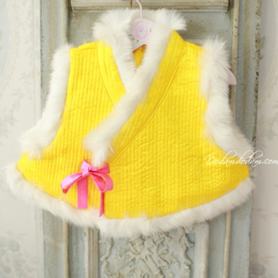 Qoo10 Yellow Hair Embroidery Children Hair Embroidery Girl