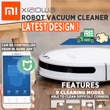 (READY STOCK) PICK UP ANYTIME- 2018 Latest Model - Xiaomi XiaoWa Robot Vacuum Cleaner