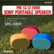 [Pre 11.11 Event] SONY EXTRA BASS™ Portable BLUETOOTH Speaker / SRS-XB01 / Water proof
