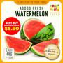 [AgogoFresh] Grade A Watermelon 4kg (+/- 0.5kg) Fruit Drink Dessert Healthy