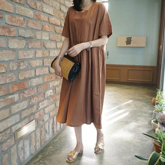 モニカルームモードopsワンピース プリントのワンピース/ 韓国ファッション