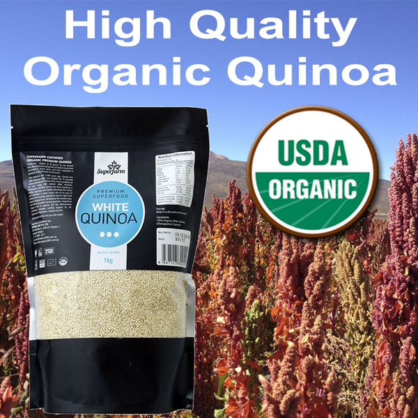 ?XMAS SPECIAL?1KG QUINOA?SUPERFARM?USDA Organic Certified High Quality Deals for only S$38 instead of S$0
