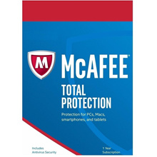 MCAFEE TOTAL PROTECTION 2017 - 10 users or FOR UNLIMITED DEVICES - DOWNLOAD
