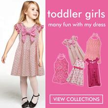 Toddler Dress / dress anak perempuan / jumpsuit anak / pakaian anak / kids wear
