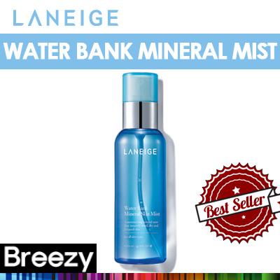 BREEZY ★ [Laneige] Water Bank Mineral Mist / 60ml / 120ml / Amorepacific /
