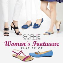 WOMENS FOOTWEAR COLLECTION - KOLEKSI SEPATU WANITA - FLATS-HEELS-SANDALS