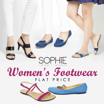 WOMENS FOOTWEAR COLLECTION Deals for only Rp42.500 instead of Rp42.500