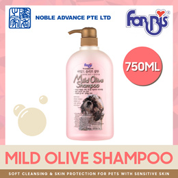 [FORBIS] Mild Olive Shampoo 750ml. For Dogs and Cats with Sensitive Skin.
