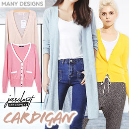 JessCloset - LOCAL IN STOCK  - ALL CARDIGANS BIG SALE IN VARIOUS TYPES/COLORS