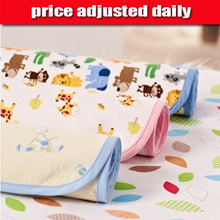 organic cotton bamboo fibre baby children toddler changing mat pad water proof mattress protector