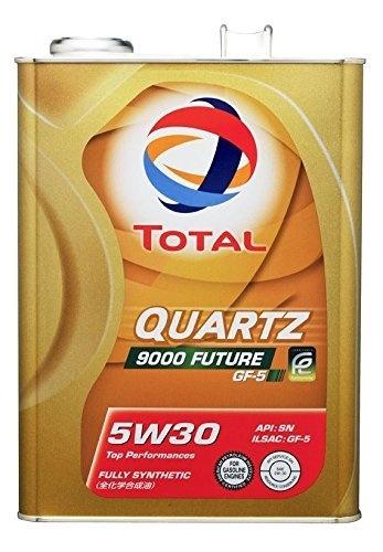TOTAL (Total) engine oil 【QUARTZ 9000 FUTURE GF 5】 5W-30 4L 181677 【HTRC3】