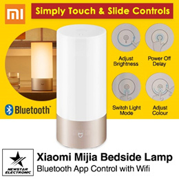 Xiaomi Mijia Bedside Lamp Bluetooth App Control WiFi Connection * Bedside Lamp 2  *