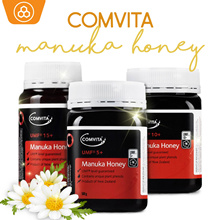 🍯🐝[EXTRA $10 OFF + FREE SHIP] 100% Authentic Comvita Manuka Honey UMF® 5+ 10+ 15+