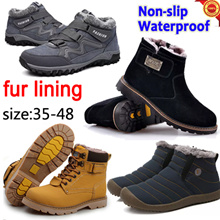 Winter boots★Mens Shoes★Waterproof Non-slip★dress shoes★Casual Shoes★Leather shoes★Winter shoes