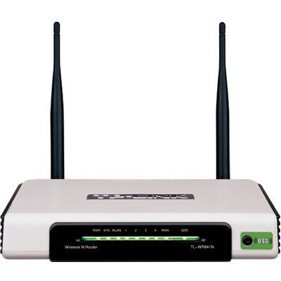 (TP-LINK) TP-LINK TL-WR841N Wireless N Router Atheros 2T2R 2 4GHz  802 11n/g/b Built-in 4-port Swi