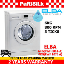 Elba 6KG (EWF 0861 A) /  7KG (EWF 1073 A) Front Load Washing Machine