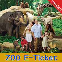 【Singapore Zoo】Singapore Zoo (Tram Ride included) one day e ticket pass