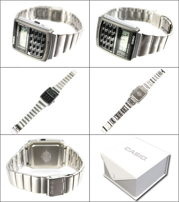 Casio General CA-506-1DF Calculator Silver Stainless Steel Deals for only Rp599.000 instead of Rp599.000
