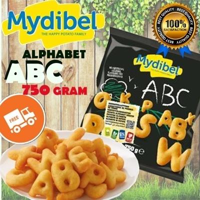 ALPHABET ABC 750 GR
