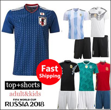 NEW DESIGNS ★ FIFA World Cup 2018 SOCCER JERSEY Germany / Spain / Argentina/ Brazil / Portugal