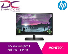 HP 27x Curved 27 in Full-HD gaming Monitor - 144Hz