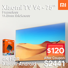 GRAB $120 COUPON DISCOUNT❤BEST SELLER❤XIAOMI TV 75 inch