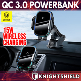 ★Baseus Fast Wireless Charging Car Phone Holder mount Accessories★Car Charger★Back Seat Hook★