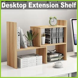 ★ Desktop Extension Shelf ★ Adjustable Desk Organizer Rack Stand for Books Stationery Storage