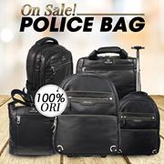 JUAL RUGI TODAY ONLY! POLICE BAG ON SALE! 100% ORIGINAL! SATISFACTION GUARANTEE! PASTI NYESEL GA BELI! FREE SHIPPING!